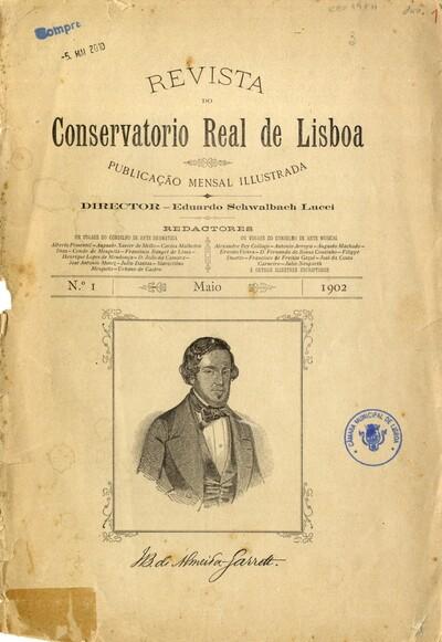 Revista do Conservatorio Real de Lisboa: publicação mensal illustrada