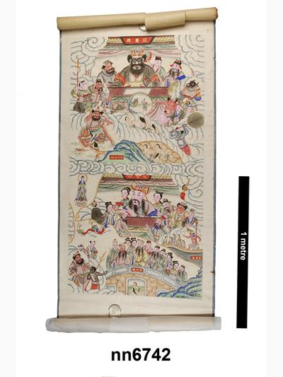 scroll painting (ritual & belief: representations)