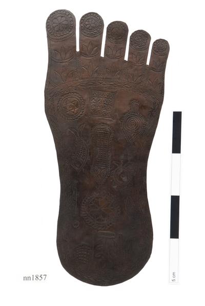 vishnu's footprint