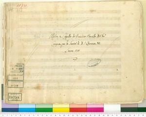 Messe (Messa a Capella di Benedetto Marcello Nob. Ven.o / Composta per la Santita' di N. S. Clemente XI. / L'anno 1711)