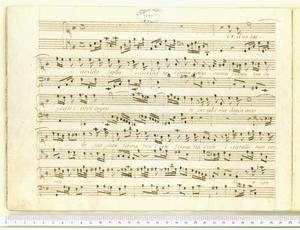 Mie pecorelle l'erbe novelle (Cantata a' voce sola / Del N. H. Benedetto Marcello)
