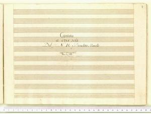 Pecorelle che pascete (Cantata a voce sola / Del N. H. Benedetto Marcello)