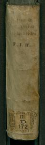 Itinerarium nobiliorum Italiae regionum, vrbium, oppidorum, et locorum; nunc serio auctum, & tabellis chorographicis, & topographicis locupletatum; in quo, tamquam in theatro, nobilis adolescens, etiam domi sedens, praestantissimae regionis delicias spectare cum voluptate poterit. Auctoribus Francisco Schotto Antuerpiensi I.C. et F. Hieronymo ex Capugnano Bonon. praedicatorio. [1]