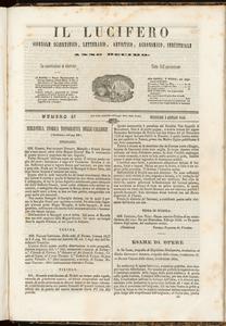 Il Lucifero : giornale scientifico, letterario, artistico, industriale (1848:A. 10, gen., 5, fasc. 43)