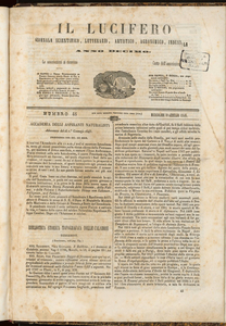 Il Lucifero : giornale scientifico, letterario, artistico, industriale (1848:A. 10, gen., 19, fasc. 45)