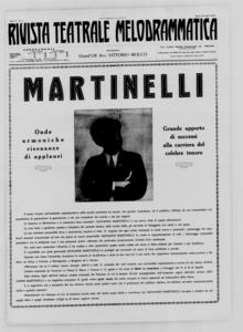 Rivista Teatrale Melodrammatica : giornale critico, musicale e d'annunzi fondato in Milano nel 1863 (1933:11-19)