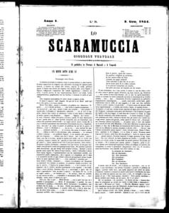Lo Scaramuccia : giornale teatrale (1854:19-104)