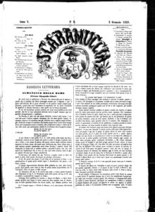 Lo Scaramuccia : giornale teatrale (1858:9-52)