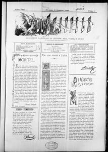 Lo Staffile : gazzettino di lettere, arte, teatri, societa' ecc. (1887:1-26)