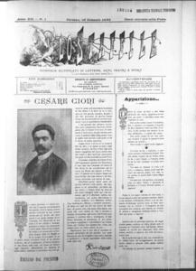 Lo Staffile : gazzettino di lettere, arte, teatri, societa' ecc. (1891:1-29)