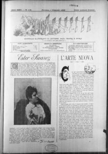Lo Staffile : gazzettino di lettere, arte, teatri, societa' ecc. (1892:1-29)