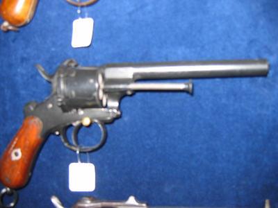 revolver, 6 schoten, penvuur