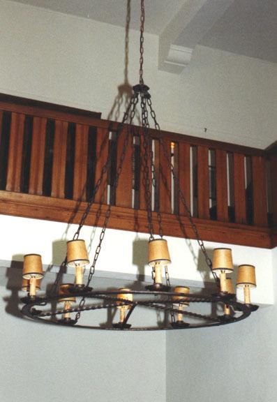 Electrische lichtkroon met 10 lampjes