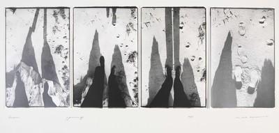 Serie van 4 foto's. Andros 7 januari 1977. Oplage 20/35. 1977.
