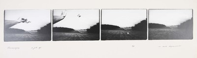 Serie van 4 foto's. Chancevigney 21 juli 1976. Oplage 2/35. 1976.