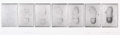 Serie van 7 foto's. Andros 25 januari 1977. Oplage 20/35. 1977.