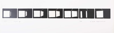 Serie van 7 foto's. Sifnos 23 juni 1977. Oplage 11/35. 1977.