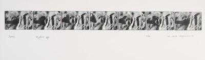 Serie van 7 foto's. Sifnos 25 juni 1977. Oplage 11/35. 1977.