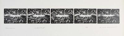 Serie van 5 foto's. Tsoutsoura 22 december 1978. Oplage 11/35. 1978.