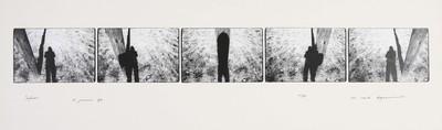 Serie van 5 foto's. Sifnos 21 januari 1976. Oplage 11/35. 1976.