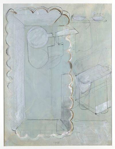 Schilderij. 1990-1991.