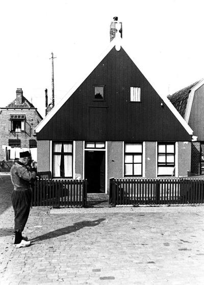 Visserswoning, Urk, 1943