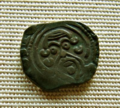 #10:Penny, Engelse munt, geslagen Berwick door muntmeester Nicole, ten tijde van Henry III in de periode 1216 - 1272