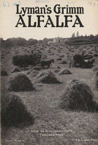[A.B. Lyman materials]