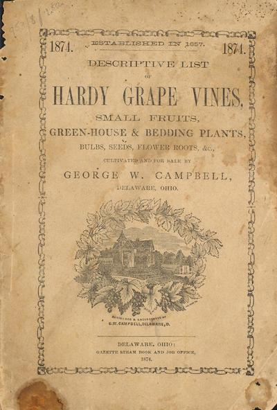 [George W. Campbell materials]