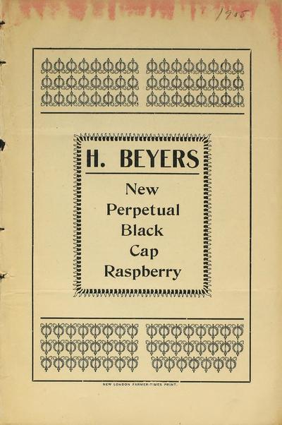 [Hugo Beyer materials]