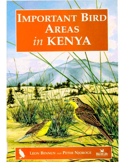 Important bird areas in Kenya /