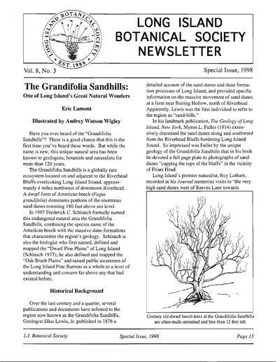 Quarterly newsletter.