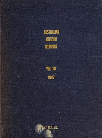 Memoir (Australian Museum : Print)