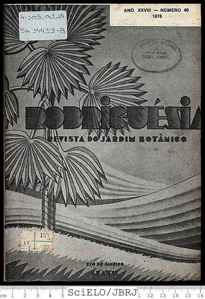 Rodriguésia: Revista do Jardim Botânico do Rio de Janeiro