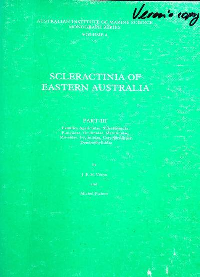 Families Agariciidae, Siderastreidae, Fungiidae, Oculinidae, Merulinidae, Mussidae, Pectiniidae, Caryophylliidae, Dendrophylliidae