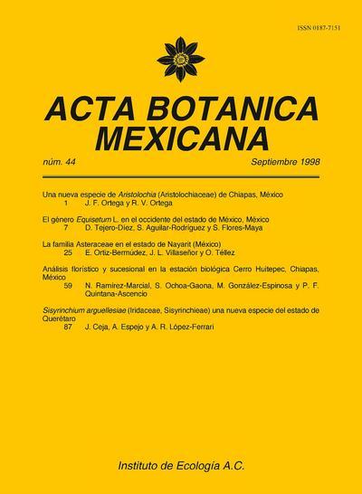Acta Botánica Mexicana