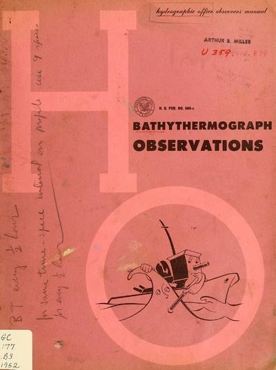Bathythermograph observations.