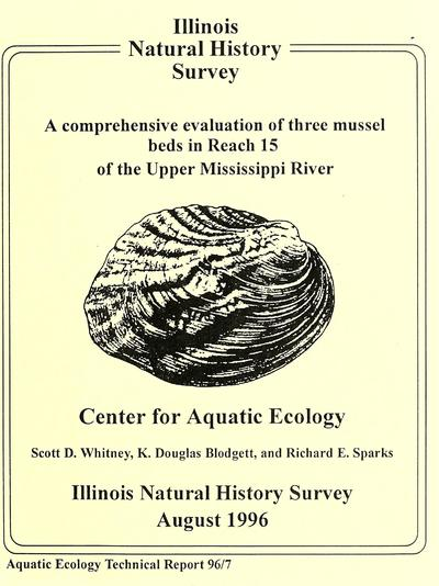 A Comprehensive Evaluation of Three Mussel Beds in Reach 15 of the Upper Mississippi River.