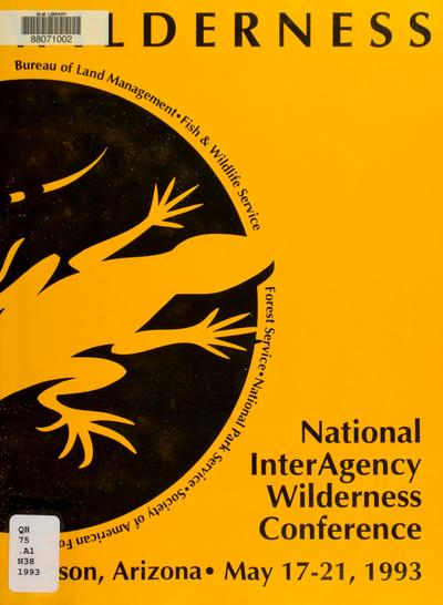 A renaissance in wilderness stewardship: conference session handbook.