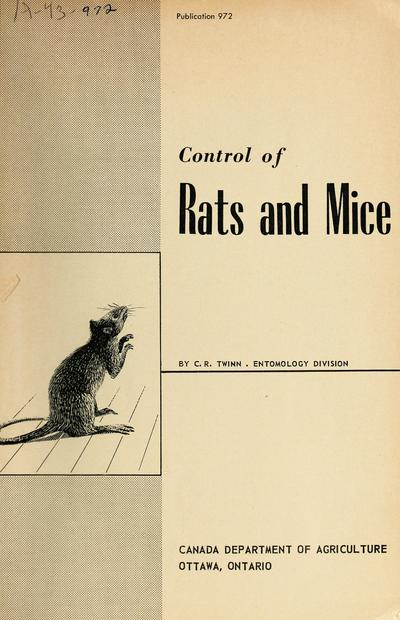 Control of rats and mice