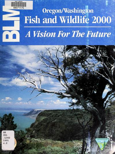 BLM fish and wildlife 2000