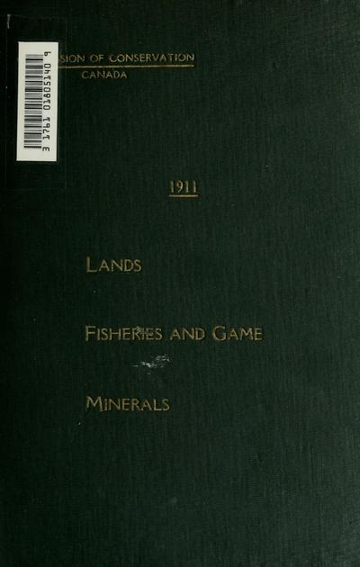 Lands, fisheries and game, minerals.