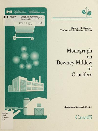 Monograph on downey [sic] mildew of crucifers