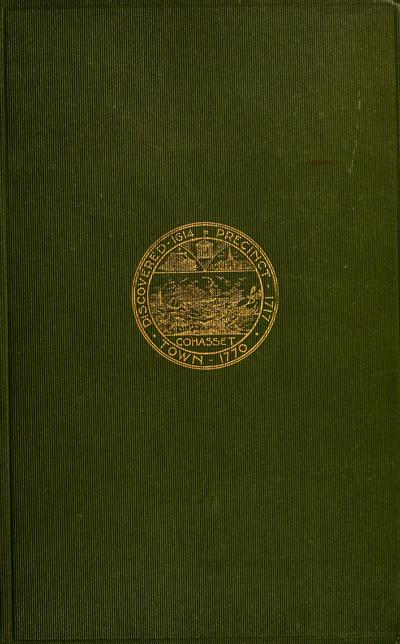 A narrative history of the town of Cohasset, Massachusetts /