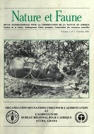Nature et faune : revue internationale pour la conservation de la nature en Afrique = Wildlife and nature : international journal on nature conservation in Africa.