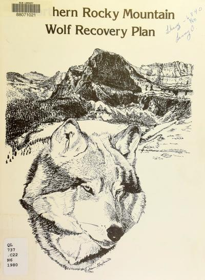 Northern Rocky Mountain wolf recovery plan /