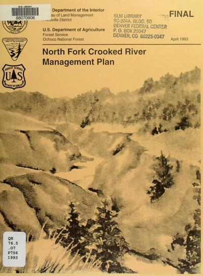 Crooked River management plan