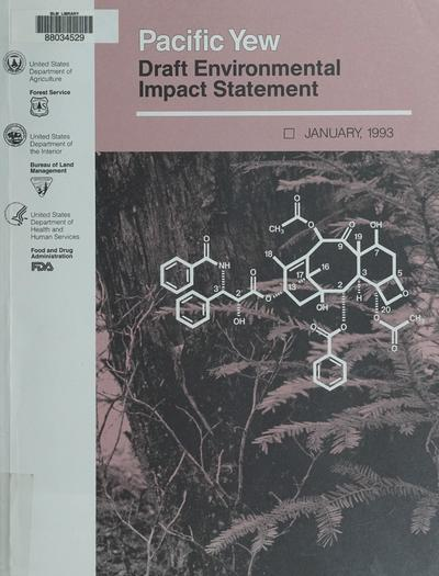 Draft EIS of the Pacific Yew project