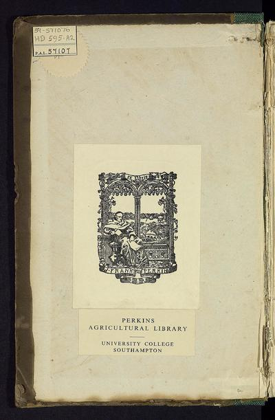 The present state of the tenancy of land in the highland and grazing districts in Great Britain; showing the principal customs & methods under which sheep farms are now held and managed in the several counties; with a brief history of sheep, and facts relevant to the state of the British wool growers /