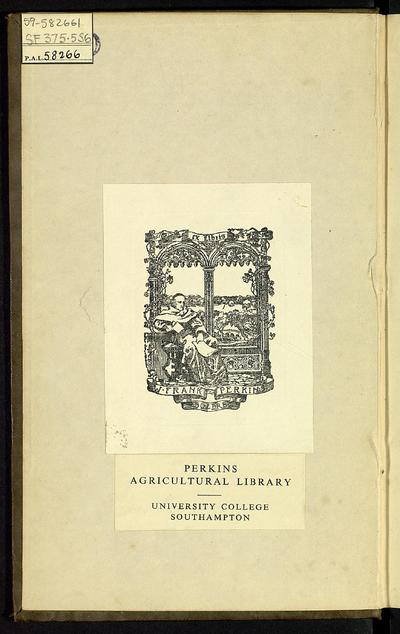 A treatise on sheep : addressed to the flock-masters of Australia, Tasmania, and Southern Africa : showing the means by which the wool of these colonies may be improved, and suggesting ideas for the introduction of other lanigerous animals, suited to the climate and calculated to add to their agricultural resources /